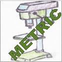 Drill Tool Metric icon