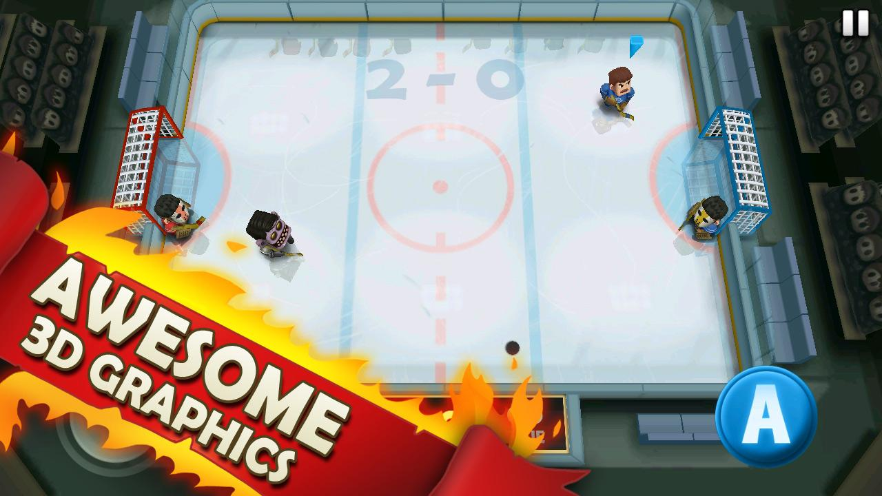 Ice Rage: Hockey Free- screenshot