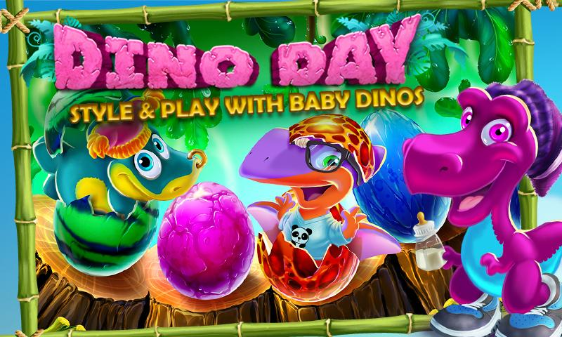 Dino Day! Baby Dinosaurs Game - screenshot