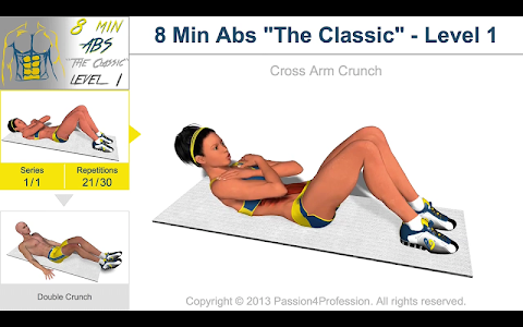 8 Minutes Abs Workout v2.4.4