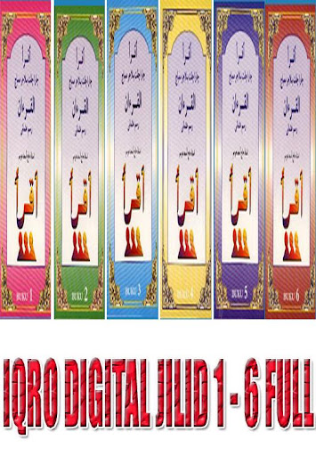 IQRO DIGITAL JILID 1 - 6 FULL