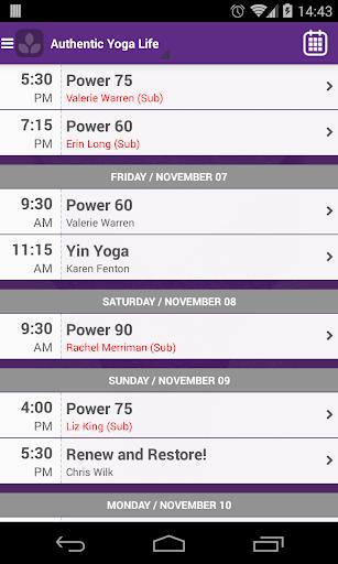 玩免費健康APP|下載Authentic Yoga Life app不用錢|硬是要APP