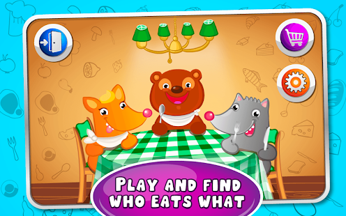 Feed the Pets - kids game