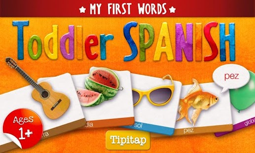 Toddler Spanish: 100 words- screenshot thumbnail