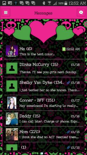 GO SMS THEME - SCS462