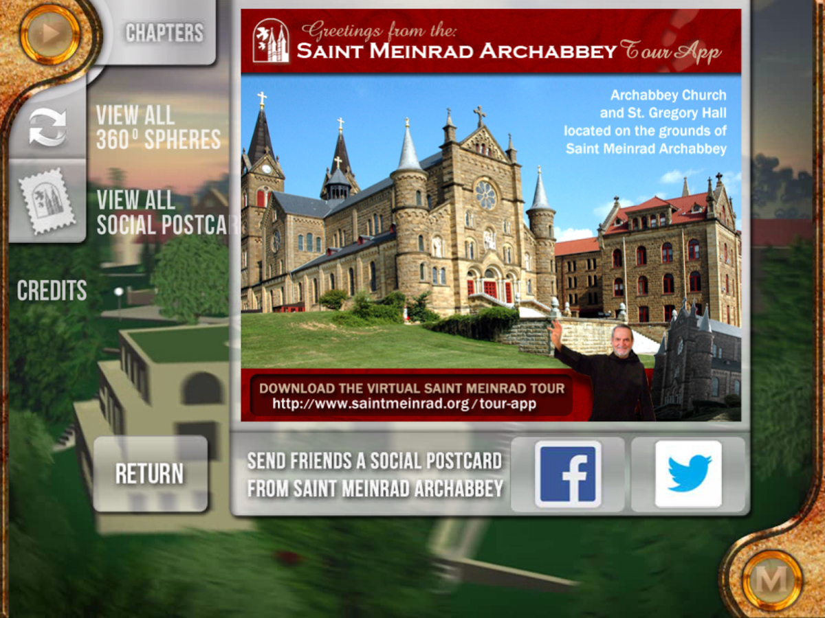 Saint Meinrad Tour App- screenshot