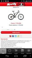Screenshot of Mammoth Bicicletas