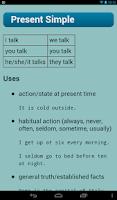 Screenshot of English Verbs Pro
