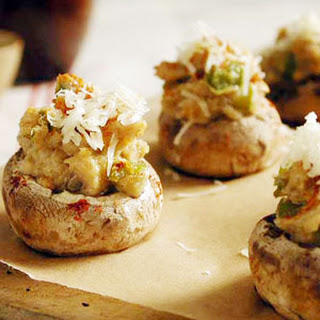 Mushroom Stuffed With Cottage Cheese Recipes.