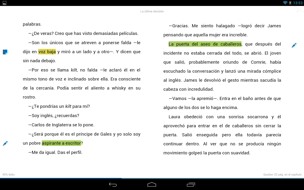 Nubico: eBooks y revistas- screenshot