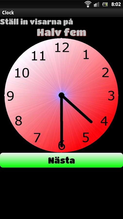 Vad är klockan?- screenshot