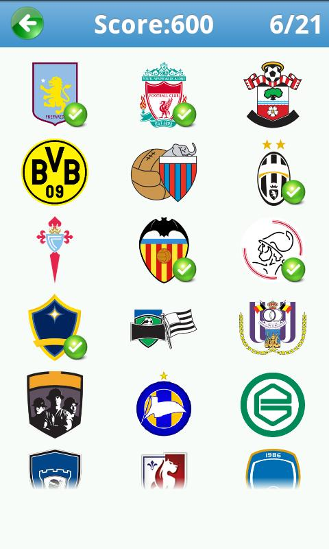 Football Logo Quiz Plus - screenshot