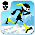Angry Ninja - Running Games icon