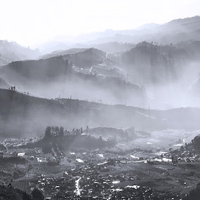 sunrise on hills by Benaya Agung - Landscapes Mountains & Hills ( hills, mountains )