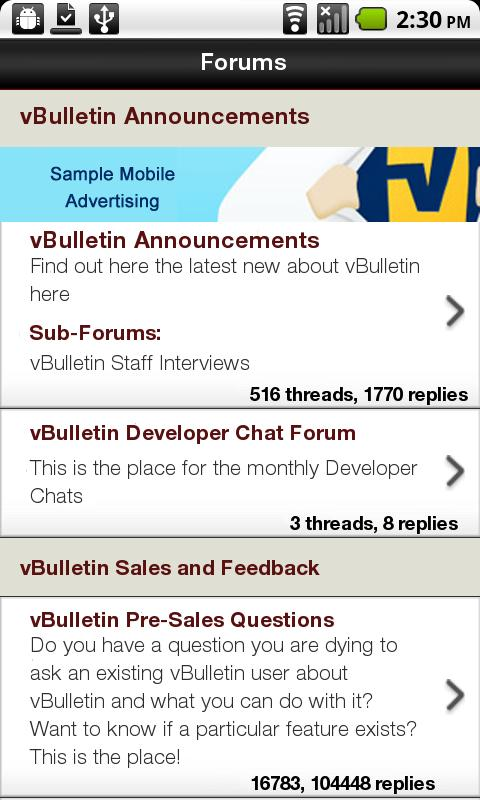 ROL Forum - screenshot