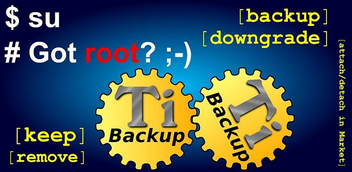 Titanium Backup (Root) v5.5.1.1 for Android