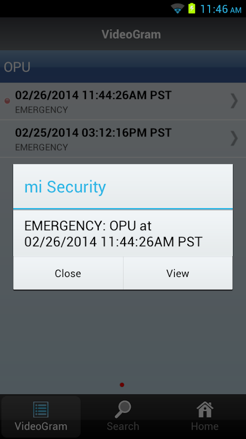 Oplink mi Security - screenshot