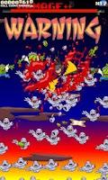 Screenshot of Super Ninja Skydiving +Zombies