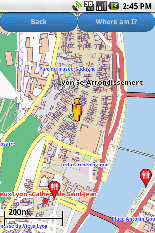 Lyon Amenities Map free
