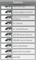 Screenshot of Tunin.FM Clubbing