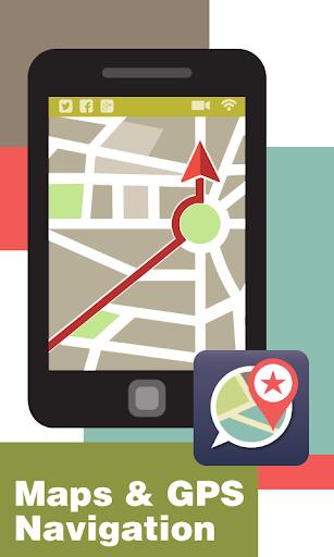 玩免費工具APP|下載Maps & GPS Navigation app不用錢|硬是要APP