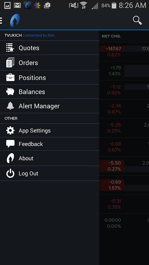 TradeStation Mobile- screenshot