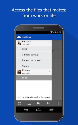 android OneDrive Screenshot 3