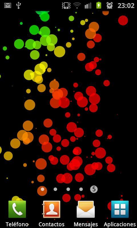 PoliBalls DEMO Live Wallpaper- screenshot