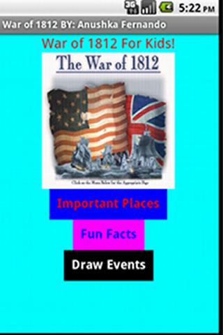 【免費教育App】War of 1812 (AF)-APP點子