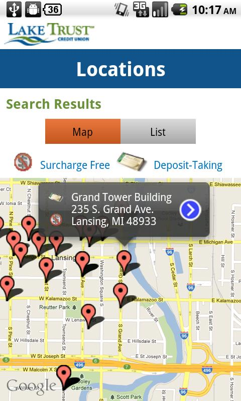 Lake Trust Mobile Banking - screenshot