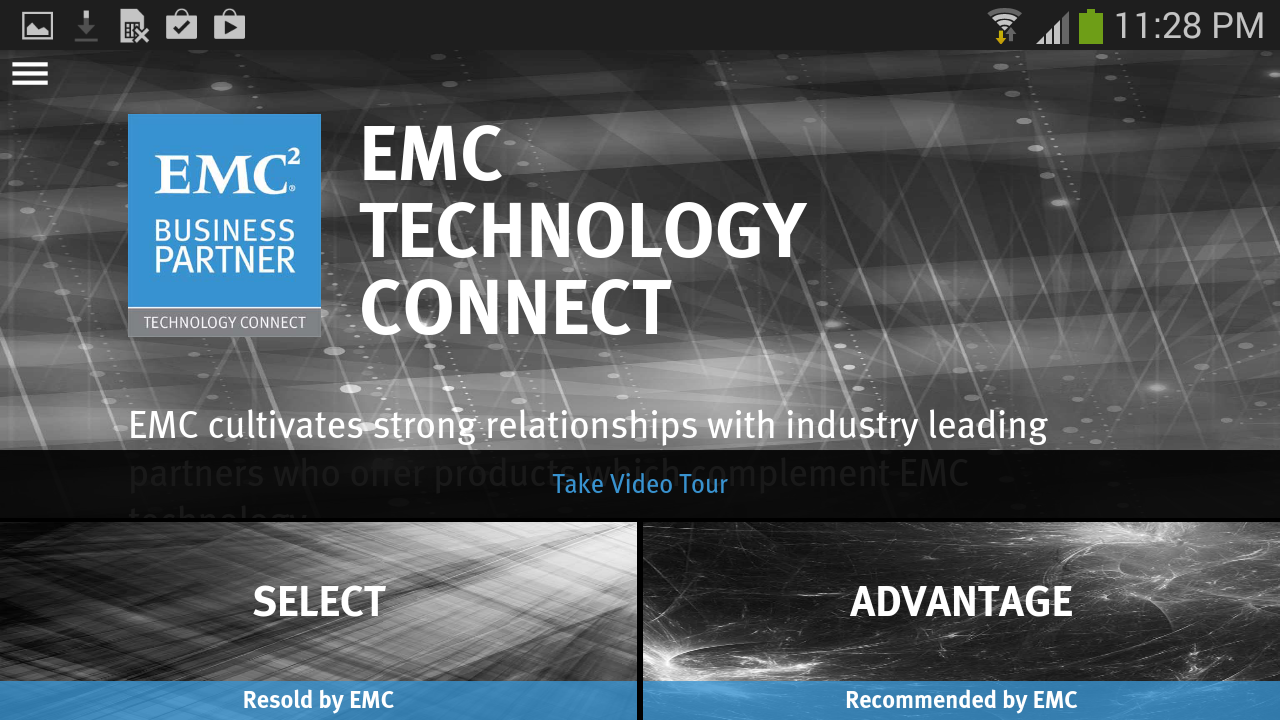 EMC Tech Connect- screenshot