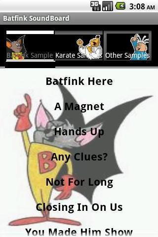 Batfink Soundboard Lite