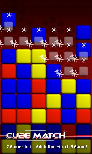 Cube Match - Collapse Burst