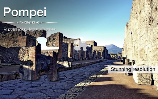 Pompei Jigsaw Puzzles Demo