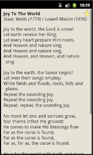 Christmas Hymnal - screenshot thumbnail