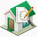 Building inspection report icon