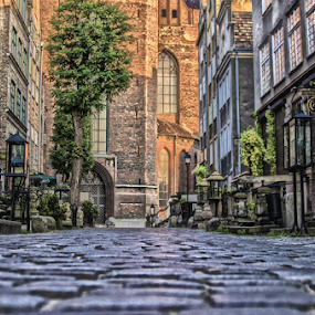 by Morgentau ;) - City,  Street & Park  Historic Districts ( historic districts, street, old town, stone, house, city,  )