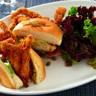 Fried Soft Shell Crab Po Boy