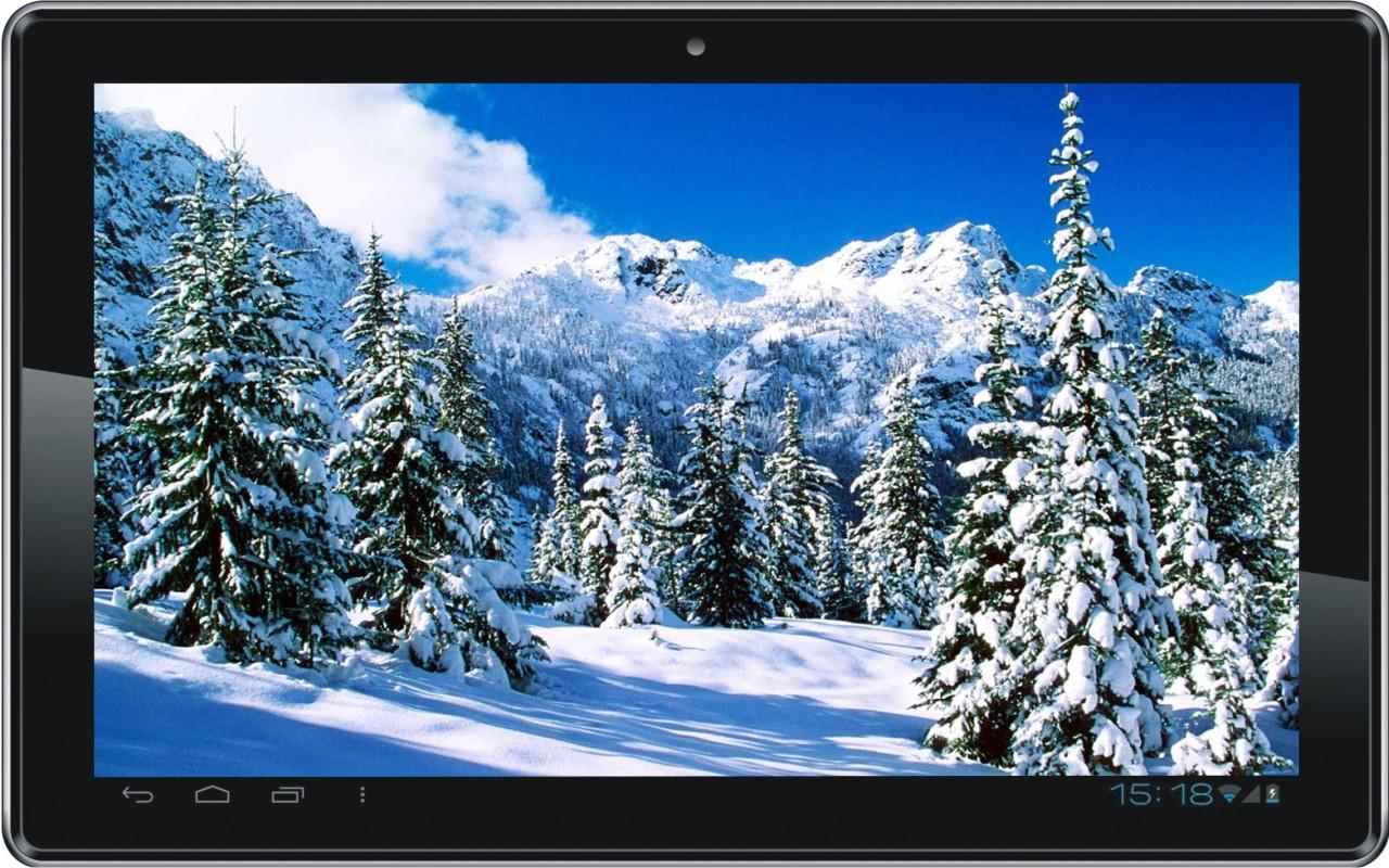 live snow falling wallpaper images