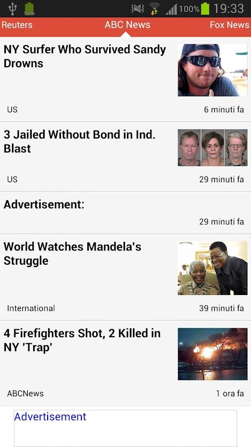 Fast News - screenshot