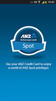 Screenshot of ANZ Spot