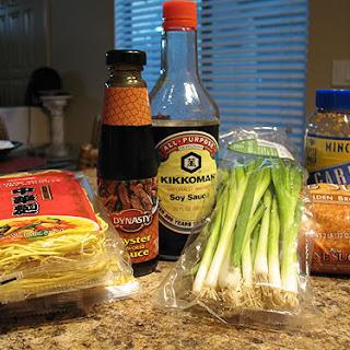 Garlic Noodles.