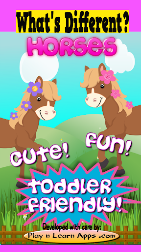 Horse Game For Toddlers Free