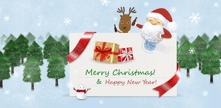 GO SMS Pro Funny Christmas Pop apk