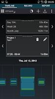 Screenshot of Time Tracker - Timesheet