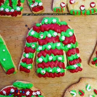 Christmas Jumper Cookies.