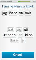 Screenshot of Learn Swedish - Fabulo
