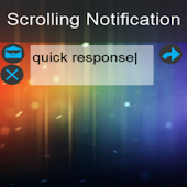Scrolling Notifications