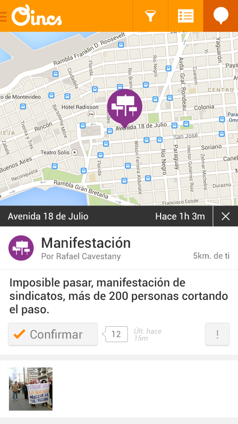 Oincs - Tránsito y seguridad- screenshot