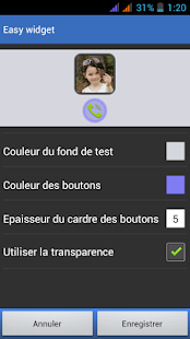 Easy Widget Capture d'écran